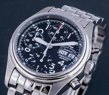 Armand Nicolet Automatik Automatic Uhr Chrono Chronograph A9098 UVP* 4000.- NEU