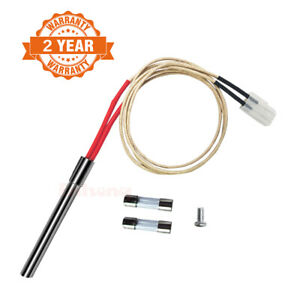 Hot Rod Ignitor Kit Replacement for Traeger Pellet Grills & Somkers BBQ Pro Part