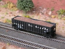 Hay Brothers Fill Dirt Load - Fits Bluford Shops 14-Panel Rib-Side Hopper Cars