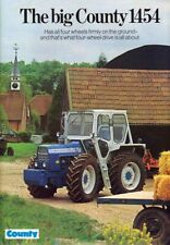 A3 Vintage County Tractor The Big County 1454 Advertising Brochure Poster