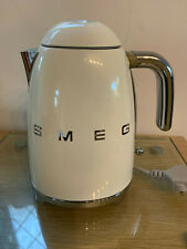 **SMEG KETTLE, CREAM, KLF01CRUK, GOOD CONDITION, PAT TESTED**