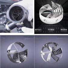1x 62-67MM Car Supercharger Turbo Air Intake Fuel Saver Increase Air-fuel Ratio