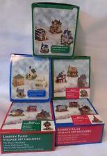 Liberty Falls Village Sets Lot 5 Boxes 20 Houses Christmas Holiday