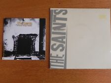THE SAINTS 6 TRACK PROMO CD AND ALWAYS/IN THE MIRROR 7INCH, STRANDED