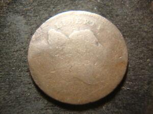 1795 Weak Date Original Liberty Cap Half Cent  DZX