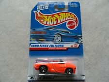 Dodge Sidewinder   1998 First Editions Hot Wheels - Card is Taped