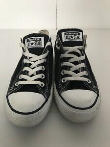 womens black converse size 7