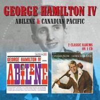 George Hamilton IV - Abilene / Canadian Pacific [New CD] UK - Import