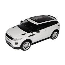 Welly 24021 RANGE ROVER EVOQUE Bianco Scala 1:24 MODELLINO AUTO NUOVO! °