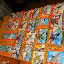 24 LOT MATCHBOX SKYBUSTERS HERO CITY MILITARY F/A-18 BOEING STEALTH LAUNCH DRONE