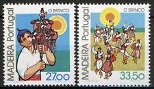 Madeira 1982, Regional Costums Brinco set VF MNH, Mi 82-83 3,6€