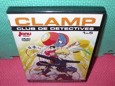 CLAMP - CLUB DE DETECTIVES - 1 DE 5 - ANIME