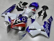 For CBR600RR 2005 2006 ABS Injection Bodywork Fairing Kit Plastic Blue White HRC
