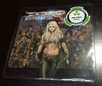 "DORO (7"") ALL FOR METAL [LIMITED 500 **SILVER VINYL **DORO PESCH WARLOCK] NEU"