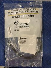 New ListingNew Genuine Oem Whirlpool Dishwasher Power Cord 4317824