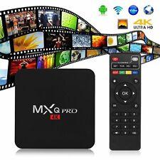 MXQ Pro 4K 64-bit Android Smart TV Streaming Box S905W Quad Core 1GB+8GB