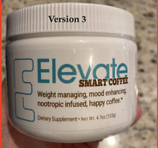 *NEW FORMULA* Elevate Smart Coffee Tub - 30 Day Supply - Nootropic HAPPY COFFEE