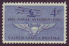 #1185 Naval Aviation. Wholesale Lot Of (10) Mint Singles. F-Vf Never Hinged!