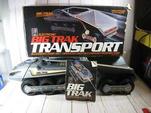Milton Bradley Big Trak Transport Dump Unit Electronic Vehicle in Box READ