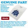 MIELE SBAD1 SBAD3 SBAF3 SBAG0 Vacuum Cleaner Bags Type GN Pack of 4 9917730