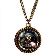 Creepypasta CREEPY PASTA TICCI TOBY Necklace Jewelry Cosplay Hatchet Blood Chain