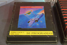 TURBO PACK C NMS 3362 50 PROGRAMS FOR MSX