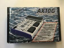 Korg Toneworks AX10G Modeling Multi-Effects Signal Processor Rare Guitar Pedal