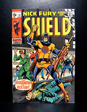 COMICS: Marvel: Nick Fury, Agent of SHIELD #15 (1969), 1st Bull's Eye app - RARE