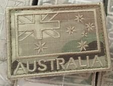 Flag Patch Australian Army Multicam Coloured Subdued