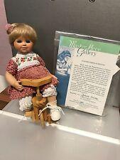 Gabriele Müller Porzellan Puppe Rosi 20 cm. Top Zustand