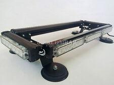 AMBER EMERGENCY  DOUBLE DOUBLE SIDE 144W LED LIGHTBAR - TOW TRUCK PLOW WRECKER