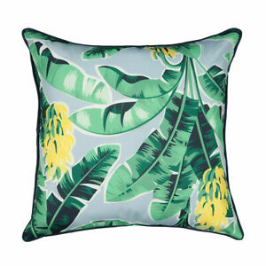 Tommy Bahama Indoor/Outdoor Tropical Palm Leaves Cushion covers - Green 2021 NEW