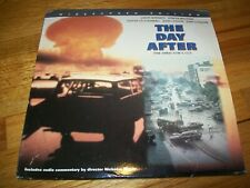 THE DAY AFTER: THE DIRECTOR'S CUT 2-Laserdisc LD WIDESCREEN FORMAT W/COMMENTARY