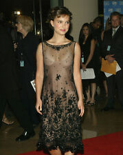 NATALIE PORTMAN 8X10 PHOTO PICTURE HOT SEXY CANDID SEE THROUGH DRESS 42