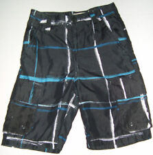 OP OCEAN PACIFIC BOYS Black Color BOARD SHORTS SWIM TRUNKS SIZE 10 NEW