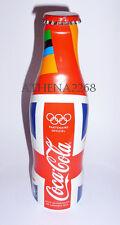 Coca Cola Union Jack alu bottle France edition 2012 -Olympic Games -