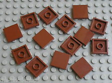 Lot  tile RedBrown 2 x 2 ref 3068b LEGO / set 10196 75020 4195 4184 7662 10236