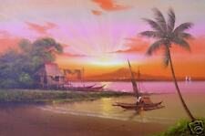 Seascape 18x24 Art Philippines Oil Painting
