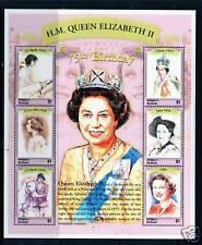 Antigua   2001 Queens 75th Birthday SG3398/3403 MNH