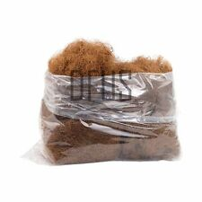 Trade bag 10kg Ginger polished coir fibre (coconut). horse hair substitute.