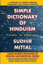 Simple Dictionary of Hinduism : Hindi to English (in English Alphabetical...