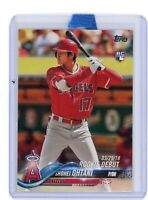 2018 Topps Update Shohei Ohtani Rookie Debut US285