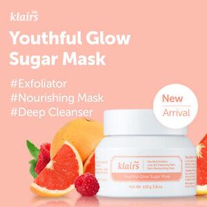 [Klairs] Youthful Glow Sugar Mask/ antioxidants