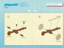 Playmobil Bauanleitung 3153 Wikinge mit Rammbock