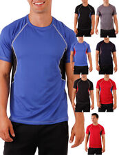 New Dri-Fit Workout Short Sleeve Top Basketball Fitness Activewear Top Gym Tee