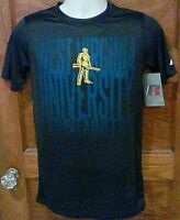 NWT Russell WVU West Virginia University Mountaineers Blue Small Free Shipping!