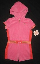 Infant Girls JUICY COUTURE Hooded Summer Romper or Swim Cover-up - 18-24 months