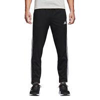 Adidas Men Pants Running Essential 3 Stripes Fashion Training Gym Black BK7414