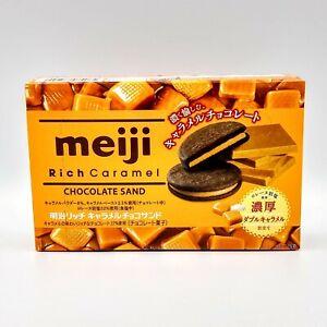 Rich Caramel double caramel chocolate cookies 1 Box 6 pcs Meiji exp 02/2022