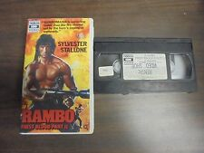"""~USED VHS Movie~ """"RAMBO First Boold Part II"""""""
